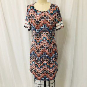 Bobbie Brooks Bold Boho Soft Dress